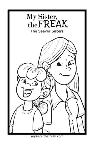 big sister coloring pages printable - big sister colouring pages